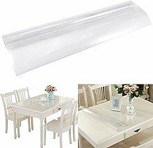 Frosted Clear Table Cover Protector, wasserdichte