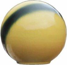 Frostsichere Gartendeko Kugel »Palla Giallo« aus Steinzeug in gelb