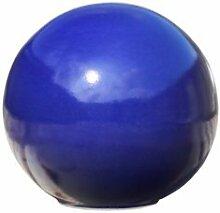 Frostsichere Gartendeko Kugel »Pila Azur« aus Steinzeug in blau