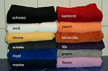 Frottee Handtuch Supreme 50x100 cm, Farbe Graphit,