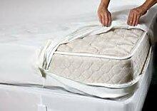 Frottee, Wasserdicht Schutzhülle insgesamt Encasement Gehäuse mit Bezug Cotton Top 1.22 meters 122 x 190 x 30 cm