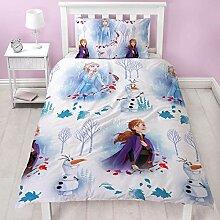 Frozen 2 Disney Die Eiskönigin Bettwäsche mit