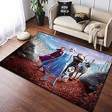 Frozen Anime Teppich Mädchen Schlafzimmer
