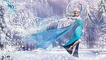 Frozen - Foto-Tapete Disney Eiskönigin Elsa - Größe 368 x 254 cm - 4-teilig