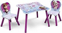 Frozen Kleiner Tisch und Stühle (Lila)