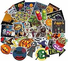 Frtspy 100 Halloween Aufkleber Dekoration Cartoon
