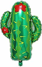 Frucht-Wassermelonen-Folienballon Kaktus Flamingo