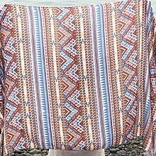 Frühling und Sommer Strandtuch großer Schal Seaside Sonnenschutz Schal weiblich Baumwolle und Leinen (Länge 180cm) , 4
