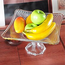 fruit bowl Obstteller / Korb Glas groß kontinental moderne Mode kreativ Nr Größe Quartett Haushalt Zubehör Dekoration , size