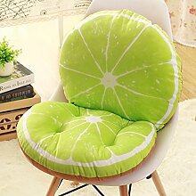 Fruit cushion kissen integriert floor office kissen verärgert student kissen dining stuhl kissen-P 40x80cm(16x31inch)
