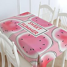 Fruit kreative Baumwolle und Leinen Tischdecken, Tuch europäischen Couchtisch Tischdecken, rechteckige runde Tischdecken , #2 , 140*140cm