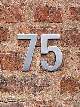 FSB Hausnummer 8 Edelstahl 12.5x0.4 cm, Designer