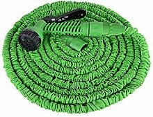 Fscm Flexibler Gartenschlauch Wasserschlauch 25FT