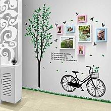 fsdacswds 7 Box Bike Tree Frische kreative Mode