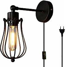 FSLIVING Vintage Edison Loft Wandlampen, Kreativ