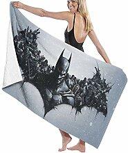 FSTGF Badetuch Batman-Baumwolle Strandtuch