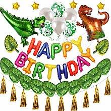 fsttm88 3D Dinosaurier Party Dekorationen