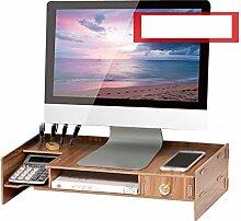 FT SM Computer-Monitore Raised Shelves Base Panels