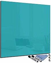 FTB Glas-Magnettafel 30x30 cm Whiteboard Wand