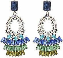 FUBULE Frauen Crystal Earing Geschenk für Frauen