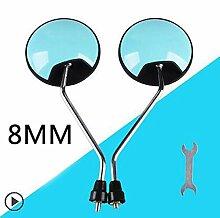 Fucaiqian CCH-HS Mirrors, 2pcs 6MM / 8MM Roller