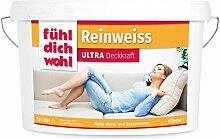 FühlDichWohl Reinweiss Ultra Deckkraft -