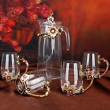 Führen sie kostenlose crystal wein dekanter-kreative wein karaffe,Wein zubehör Dekanter für hochzeit Und accessoire bei Ist ein echter blickfang-A