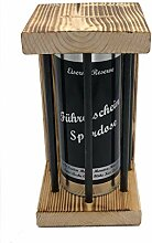 Führerschein Spardose Eiserne Reserve ® Black