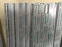 Führungsschiene Rolladen 230 cm 1 Paar für maxi Rolladen 14 mm