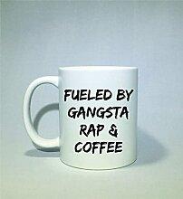 Fueled by Gangsta Rap und Kaffeetasse, lustige