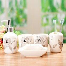 Fünf Stück Badezimmer Badezimmer Suiten Europäische Sanitärkeramik d