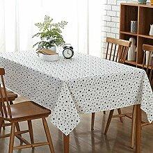 fünfzackigen stern Tischdecke Leinen baumwolle Dekorative Hotel Couchtisch Esstisch Geschirr Staub Tuch , 130*180cm