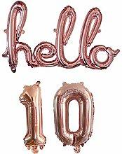 Für Geburtstag, Hochzeit Bollons | 1set 16inch