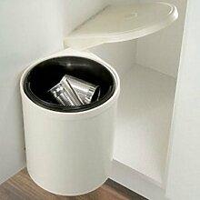 Für Mülleimer mit Schwingdeckel, 10 L, sowie