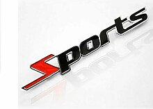 Für Sport Version des Metallautobeschriftung