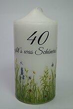 Fürhapter Geburtstagskerze Kerze Zum 40.