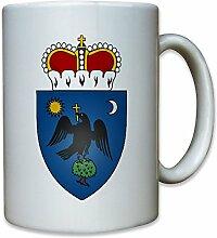 Fürstentum Walachei 14 Jahrhunderts Wappen - Tasse Kaffee Becher #12543