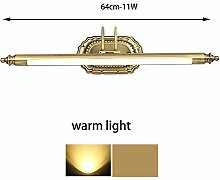 FUFU Spiegel-Lampe LED integrierte traditionelle