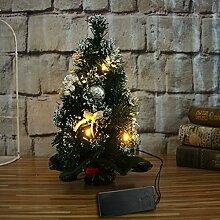 FUGUI Weihnachten Deko, LED Licht Mini