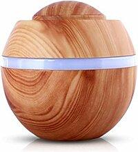 Fuibo 500 ml USB Air Aroma Luftbefeuchter Ultraschall LED 7 Farbwechsel Ätherisches Öl Dif | Humidifier| Befeuchter für zuhause Yoga Büro SPA Schlafzimmer (BB)
