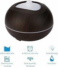 Fuibo 7 Farben LED Holz Diffusor Ultraschall