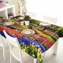 FuJia Tischdecke Blume Tee tischdecke tischdecke