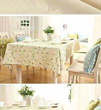 FuJia Tischdecken Bestickte Tischdecke Stoff