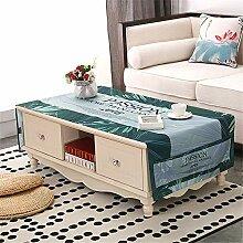 FuJia Tischdecken Couchtischdecke Wohnzimmer