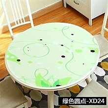 FuJia Tischdecken PVC runde Tischdecke Home