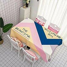 FuJia Tischdecken Tischdecke Couchtisch Tischdecke
