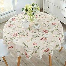 FuJia Tischdecken Tischdecke wasserdicht Kochfest