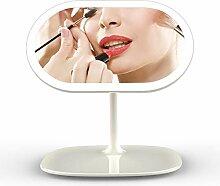 FUKANG Tragbarer Kosmetikspiegel Led Tischlampe