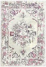 Fulcher Rosa/Grauer Teppich