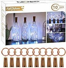 Fulighture LED Flaschenlicht,20 LEDs 2M